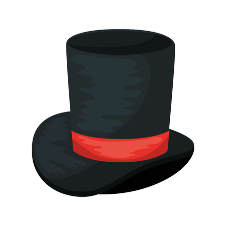 gentleman top hat icon vector illustration design