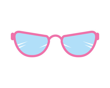 eye glasses accessory icon vector illustration design 写真素材 - 127641406