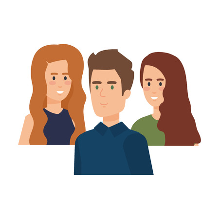 group of people characters vector illustration design 版權商用圖片 - 112178750