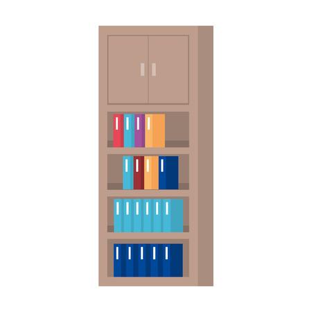 bookscase library isolated icon vector illustration design Reklamní fotografie - 127564826