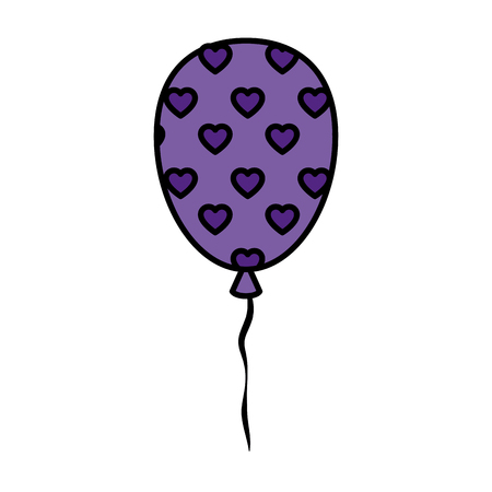 party balloon celebration icon vector illustration design 일러스트