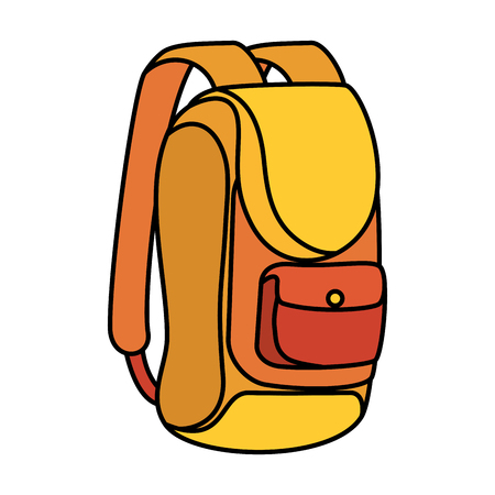travel bag isolated icon vector illustration design