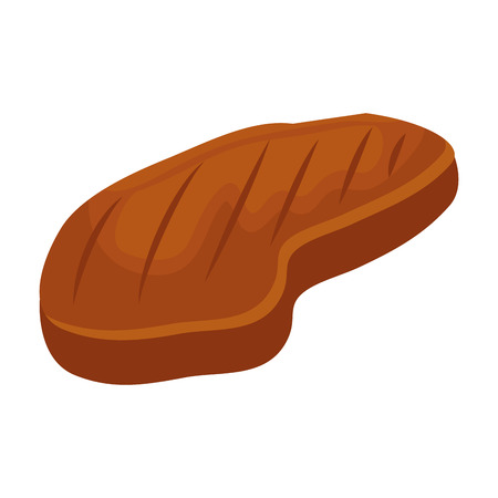 meat beef isolated icon vector illustration design Illustration