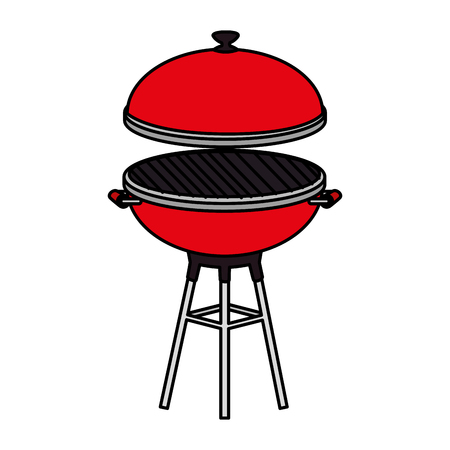 oven grill isolated icon vector illustration design