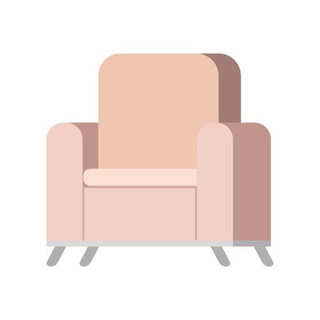 sofa livingroom isolated icon vector illustration design