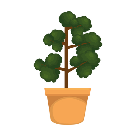 houseplant in pot icon vector illustration design 版權商用圖片 - 112483286