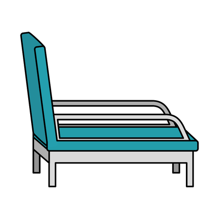 psychiatrist chair isolated icon vector illustration design