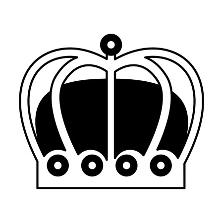 monarchical crown isolated icon vector illustration design Stock Vector - 112789953
