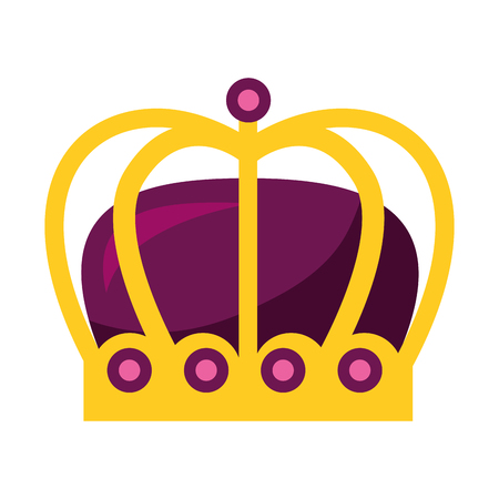 monarchical crown isolated icon vector illustration design Фото со стока - 112789954