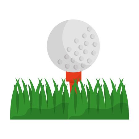 golf ball sport icon vector illustration design Иллюстрация