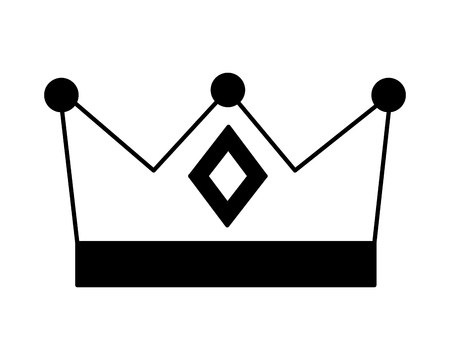 monarchical crown isolated icon vector illustration design Stock Vector - 112790236