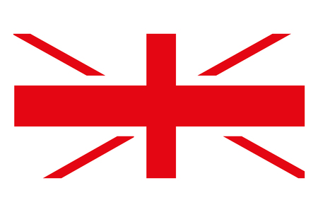 happy australia day flag symbol vector illustration
