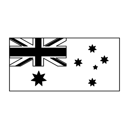 map country map happy australia day vector illustration 일러스트