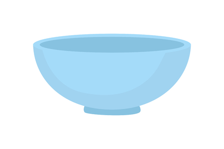 bowl kitchen on white background  vector illustration Ilustração