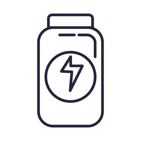 bottle drugs isolated icon vector illustration design Фото со стока - 127026527