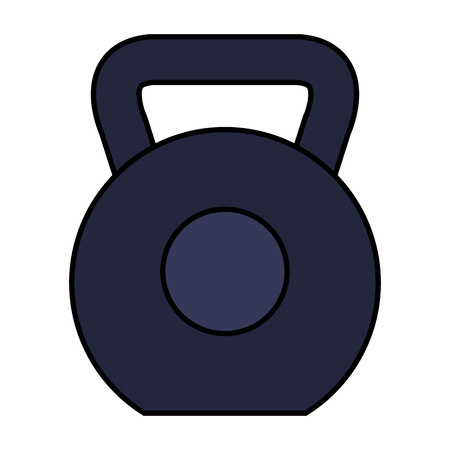 weight lifting dumbbell sport fitness vector illustration design Reklamní fotografie - 113429955