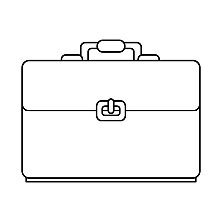 portfolio briefcase isolated icon vector illustration design 일러스트