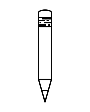 pencil write isolated icon vector illustration design 向量圖像