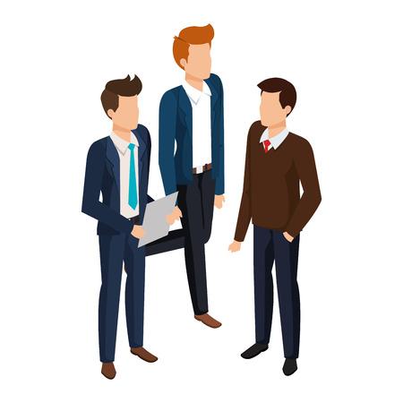 group of men avatars characters vector illustration design Stock fotó - 127009057