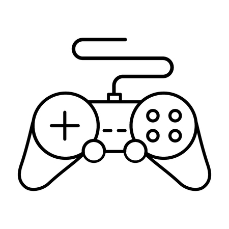 controller console on white background vector illustration 일러스트