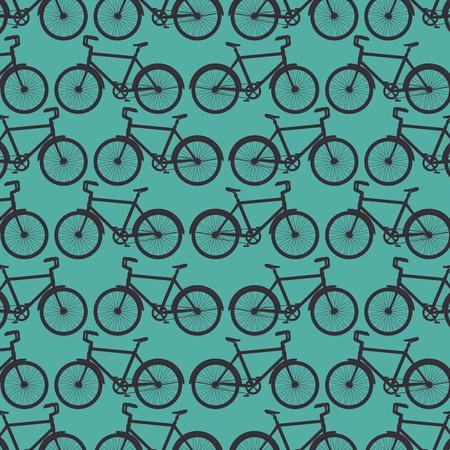 sport bicycle transport vehicle background vector illustration Ilustrace