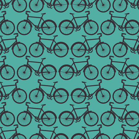 sport bicycle transport vehicle background vector illustration Illustration