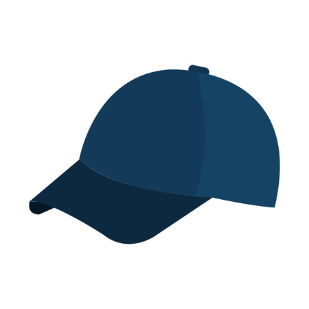 sport cap isolated icon vector illustration design
