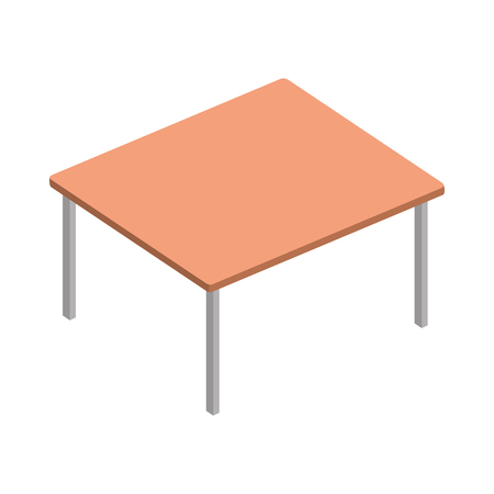 table wood isolated icon vector illustration design  イラスト・ベクター素材