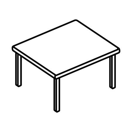 table wood isolated icon vector illustration design Archivio Fotografico - 113893816