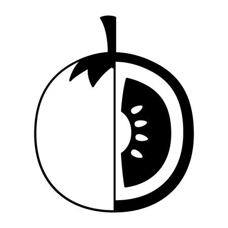 tomato fresh on white background vector illustration Illustration