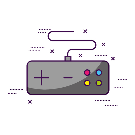 controller video game white background vector illustration 일러스트
