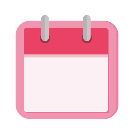 calendar reminder isolated icon vector illustration design Stock Vector - 114794286