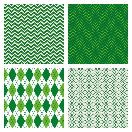 set abstract texture with geometric design background vector illustration