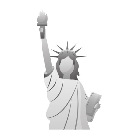 statue of liberty new york city landmark vector illustration Stock Vector - 126014646