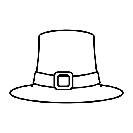 st patricks leprechaun hat vector illustration design Standard-Bild - 125981343
