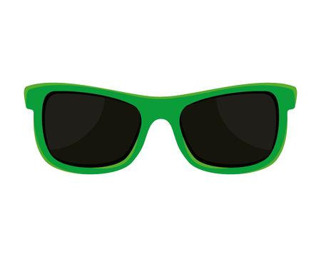 sunglasses accessory isolated icon vector illustration design
