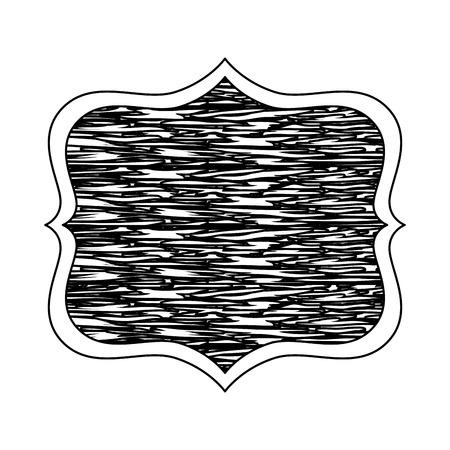 antique wooden label icon vector illustration design 写真素材 - 115784204