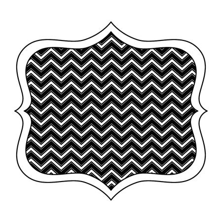 antique wooden label icon vector illustration design