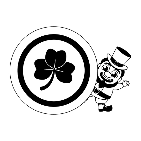 14160 Leprechaun Ireland Cliparts Stock Vector And Royalty Free