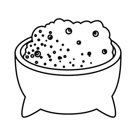 delicious guacamole sauce icon vector illustration design Stock Vector - 125819129