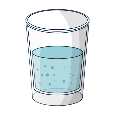water glass isolated icon vector illustration design Фото со стока - 125792309