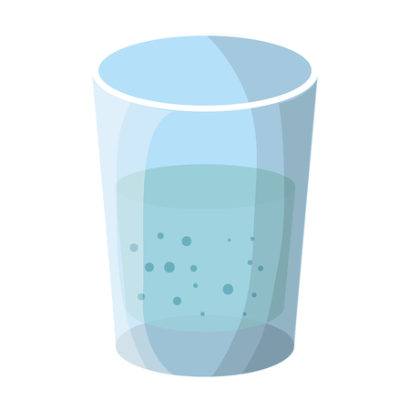 water glass isolated icon vector illustration design