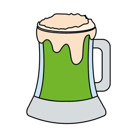 beer jar isolated icon vector illustration design Иллюстрация