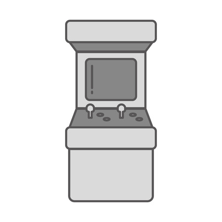 arcade machine control video game vector illustration Reklamní fotografie - 125647873