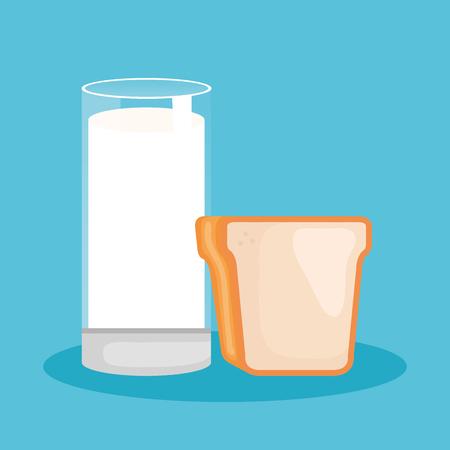 delicious milk bottle icon vector illustration design