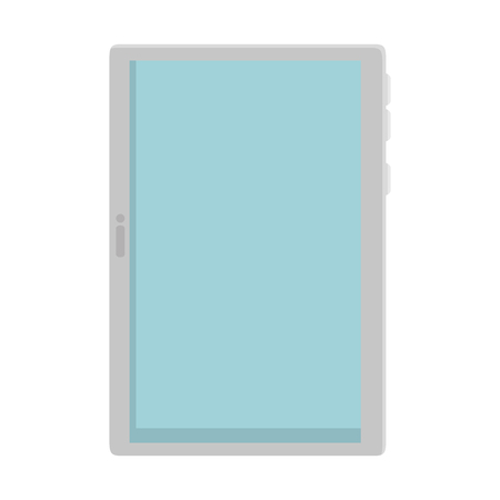 tablet device isolated icon vector illustration design Illusztráció