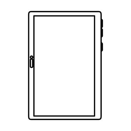 tablet device isolated icon vector illustration design 일러스트