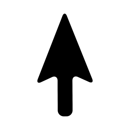 arrow mouse pointer icon vector illustration design