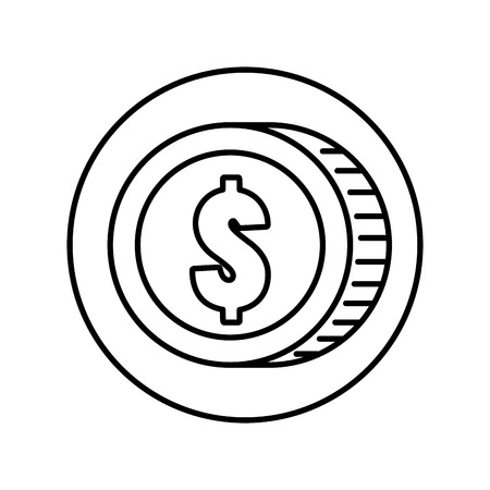 coin money isolated icon vector illustration design 版權商用圖片 - 116694572