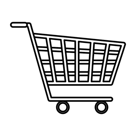 shopping cart isolated icon vector illustration design Archivio Fotografico - 116694516